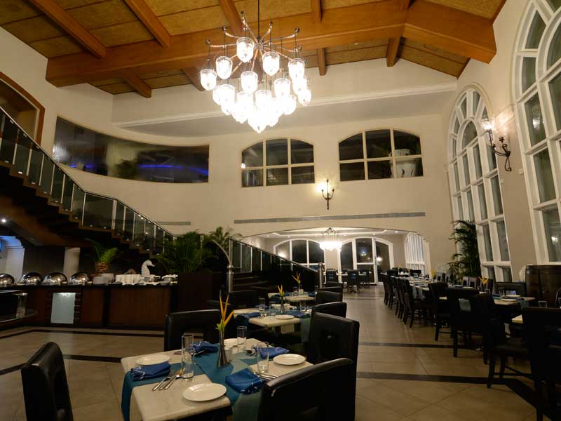 five star multi cuisine restaurants goa - zuri whitesands