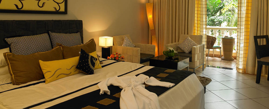 luxury suites in zuri white sands, goa