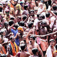 erumeli petta thullal festival in kerala - zuri kumarakom
