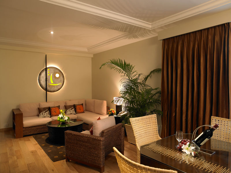 executive suite at zuri whitesands, goa