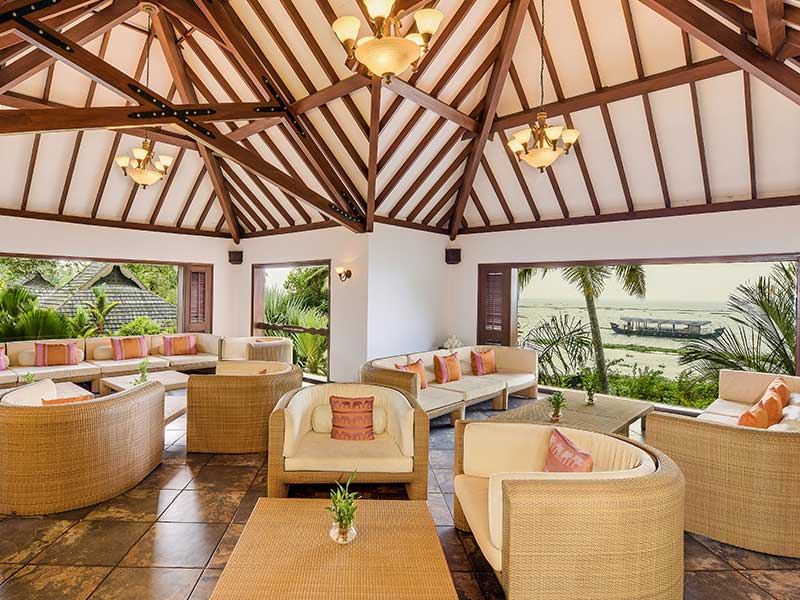 resorts with bar menu restaurant - zuri kumarakom