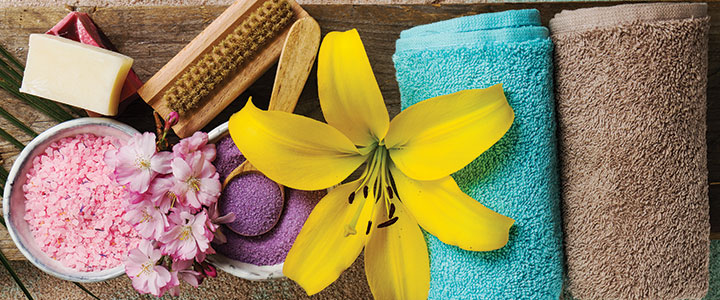 different kinds of spa services